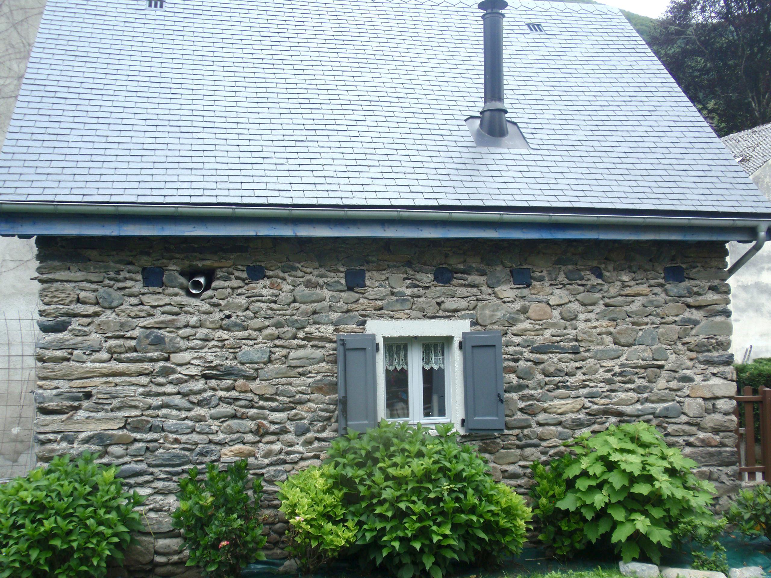 Vue de la terrasse de la maison du Rabada