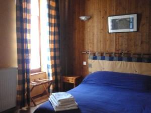 la chambre Bleue, maison du Rabada