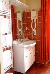 salle d'eau de la chambre Madras, maison du Rabada à Sentein